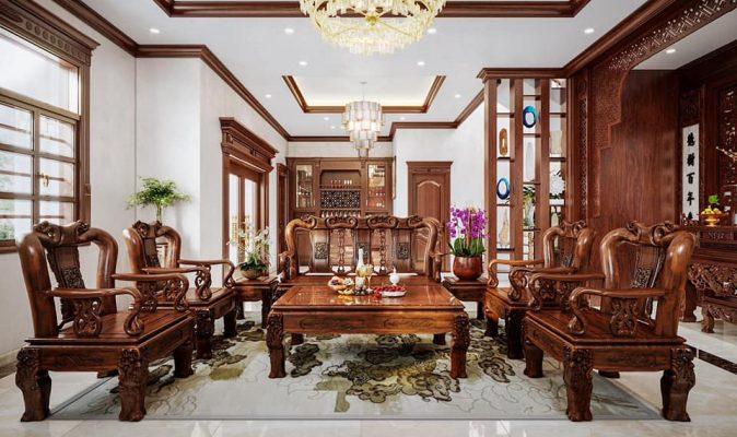thiết kế nội thất và giá thi công nội thất cho khách hàng tại nam định.