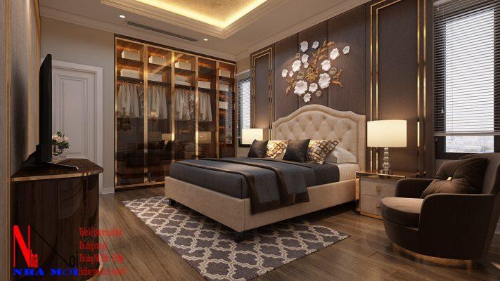 Thiết kế nội thất phòng phòng ngủ mới nhất ở Nam Định năm 2021.