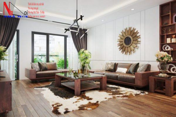 Mẫu thiết kế nội thất phòng khách đẹp nhất hiện nay ở Nam Định