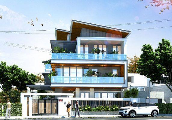 Công ty thiết kế nhà biệt thự 3 tầng 1 tum chuyên nghiệp, uy tín ở Nam Định.