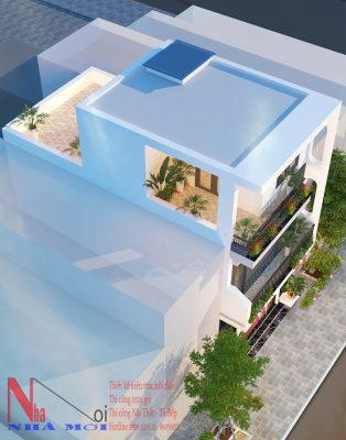 Công ty Thiết kế nhà ống 3 tầng ở Thành phố Nam Định.