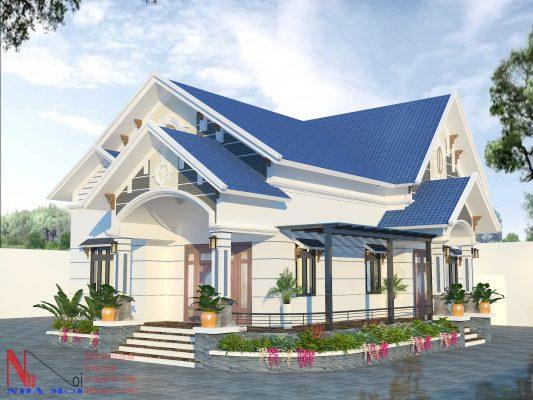 Công ty thiết kế mẫu nhà cấp 4 hiện đại tại Hải Minh - Hải Hậu - Nam Định.